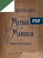 Cristofaro-Method for Mandolin