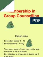 1 Membership in Group