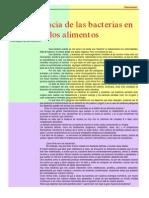 Articulo Importancia de Las Bacterias Carabobeno 1999