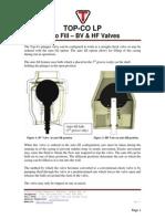 Top-Co - AutoFill - BV & HF Valves
