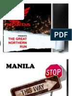 Honda Safety and Economy Run Riders Presentation
