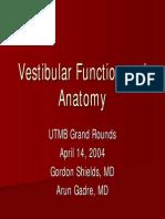 Vestibular Slides 2004 0414