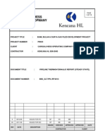 BBS SLT PLL RP 0002 0 RevA _Pipeline Hydraulic