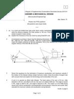 9A21506 Mechanisms & Mechanical Design