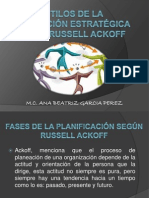 106331593 Estilos de Planeacion Rusell Ackoff