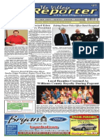 The Village Reporter - January 22nd, 2014