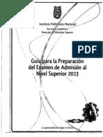 guia preparacion del examen de admision nivel superior 2013.pdf