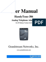 HandyTone-386UserManual