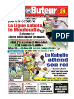 LE BUTEUR PDF du 24/09/2009