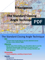 VFR Navigation Part 3 - The Standard Closing Angle Technique