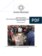 Nyon Process Report Tunisia Challenges and Opportunities January 20121
