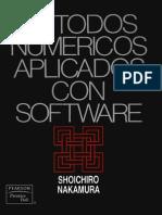 Metodos Numericos Aplicados Con Software - Shoichiro-Nakamura