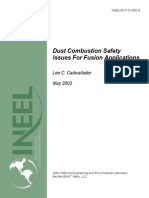 Dust Combustion Safety