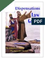Dispensation Law Grace