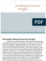 Statistika Farmasi 11 Rancangan Silang (Crossover Design)