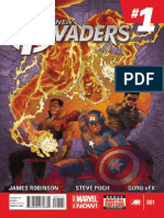All-New Invaders Exclusive Preview