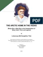 Arctic Home of the Vedas - Tilak