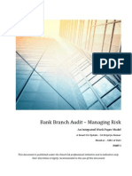 Bank Audit - Working Paper Manual-Part I