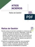 Ratios Finacieros - Gestion