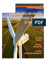 Stabilizing Grids and Enabling Renewable Power Generation of Wind Turbine