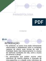 Introdução-PARASITOLOGIA I
