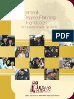 TESC Degree Planning Handbook 12.09