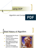 02 - Algorithm Using OOP