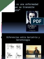 Diferencias Entre Geriatria y Gerontologia