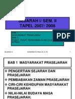 Sejarah i Semester II