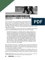 Marxismo y religión en Ernst Bloch, de Michael Löwy