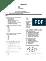 UTS Kimia Kelas X