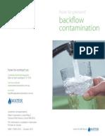 Backflow Prevention Brochure