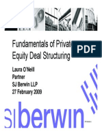 Fundamentals of PE Structuring