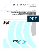 Technical Specifications and Technical Reports for a UTRAN-based 3GPP system 