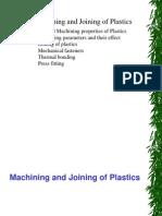 machining and joining plastics