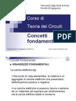02 TdC Concetti Fondamentali Teoria Dei Circuiti
