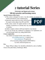 Online Tutorial Series
