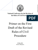 PRIMER on the 2013 Revised Rules