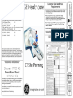 GEHC Site Planning Final Drawing Discovery CT 750 HD 1700 Table 8x System PDF