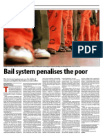 Bail System Penalises the Poor