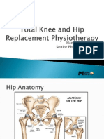 Total Knee and Hip Replacement Physiotherapy