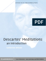 Wilson Catherine, Descartes' Meditations (an Introduction)