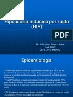 Hipoacusia Inducida Por Ruido