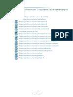 TEMA 3 - Riesgos específicos y su prevención en el sector correspondiente a la actividad de la empresa