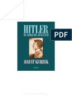Agust Kubizek - Hitler Mi Amigo de Juventud