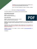 Anunt Site Evaluare Sem I 2013-2014