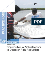 Practice Note Disaster Risk Reduction 2011