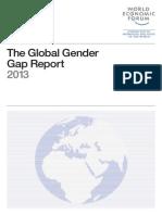 WEF GenderGap Report 2013