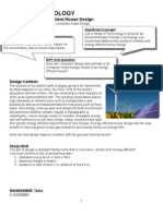 energy efficient house design unit