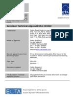 Rothoblaas.typ s.certificate Eta.en